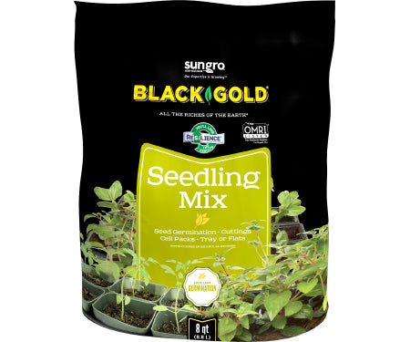 Black Seed Starting Mix - 8 Quart