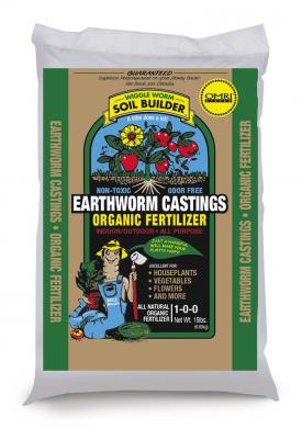 Earthworm Castings 15 pounds Wallace Organic Wonder