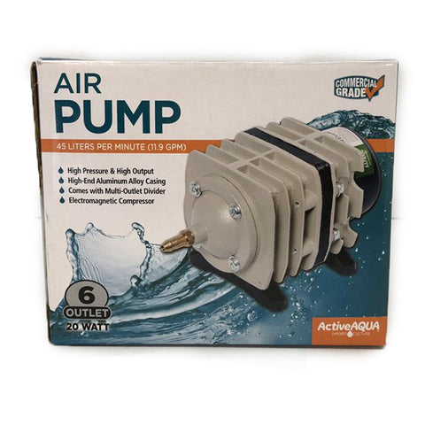 Active Aqua Commercial Air Pump, 714 GPH or 1110GPH