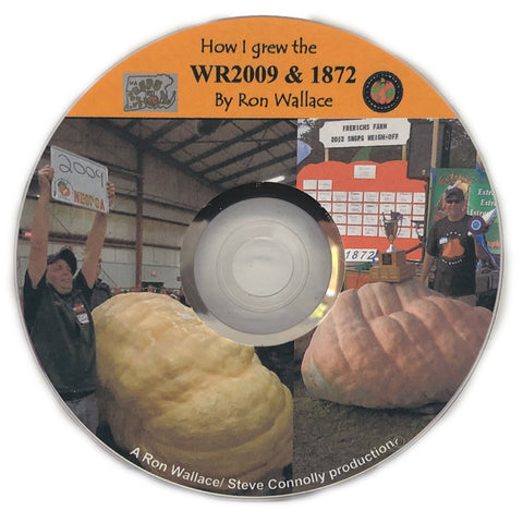 How I Grew The 2009 Giant Pumpkin