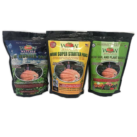 Super Starter Paks, Soil And Plant Booster, Wonder Brew Gift Set
