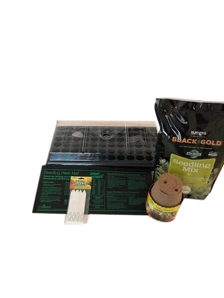 Germination Station, and Grow Light Kit  Wallace Organic Wonder