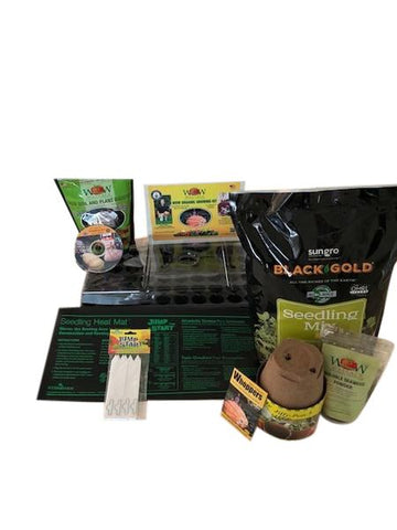 Ultimate WOW Giant Pumpkin Germination & Growing Kit  Wallace Organic Wonder