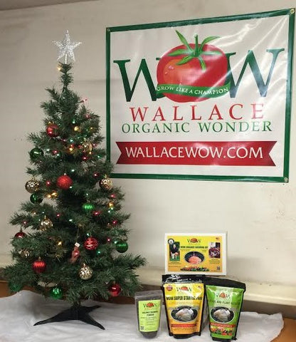SUPER GROW Vegetable and FlOWER GROW KIT  Wallace Organic Wonder