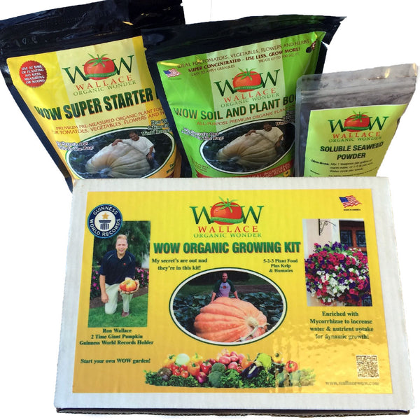 Super Grow Vegetable and Flower Kit