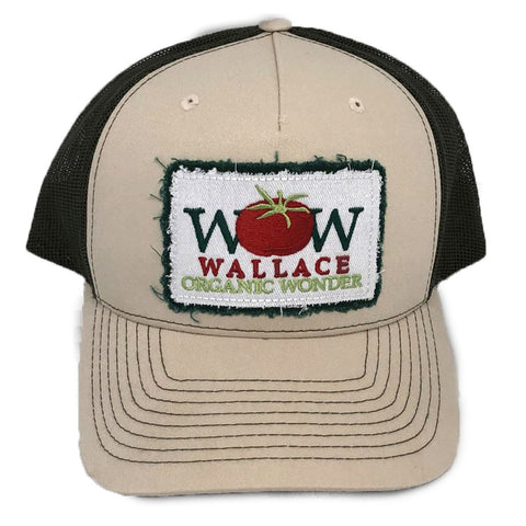 WOW Distressed Patch Trucker Cap