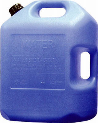 4 ea Midwest Can 6700 6 gallon Potable Water Storage Container w