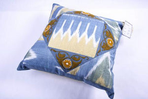 Suzani Pillow Cover from Tajikistan