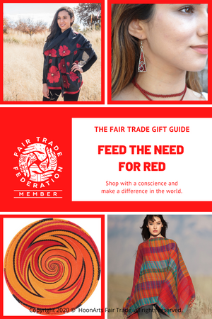 FEED THE NEED FOR RED--The Fair Trade Gift Guide