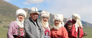 The Elechek Headdress: Kyrgyz Tradition