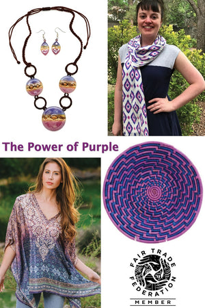 The Power of Purple: A Fair Trade Gift Guide