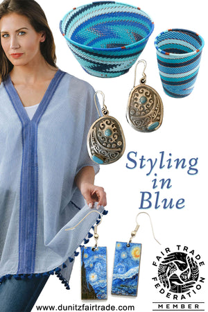 Fair Trade Blue: For Those of You Who LOVE Blue