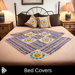 Hand Embroidered Suzani Bed Covers