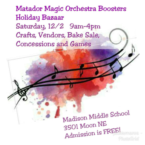 Madison Magic Orchestra Boosters Holiday Bazaar-2017