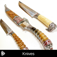 Hand Forged Knives from Tajikistan