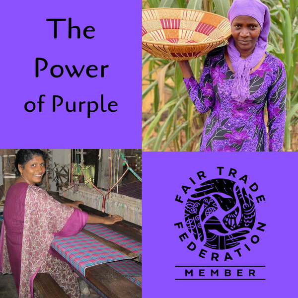 The Power of Purple Fair Trade Gift Guide