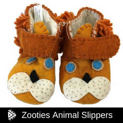 Zooties Animal Slippers