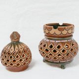 Ceramic Aroma, Candle, Incense, Lamp (3 part) - Fair Trade - HoonArts - 5