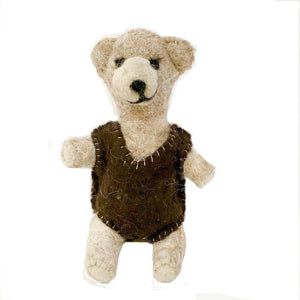 Felt Bear - Fair Trade - HoonArts - 4