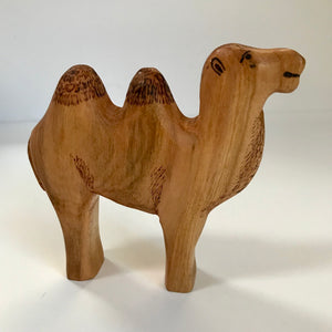 Hand Carved Miniature Camel