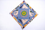 "Ikat and Suzani Embroidery Pillow Cover, ""Chorkona"" (Four Rooms) - HoonArts - 3"