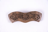 Hand Carved Ornamental Wooden Barrettes, Clip-Walnut & Apricot - Fair Trade - HoonArts - 5