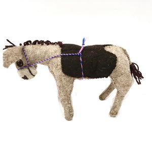 Felt Donkey - Stuffed Animal - Fair Trade - HoonArts - 4