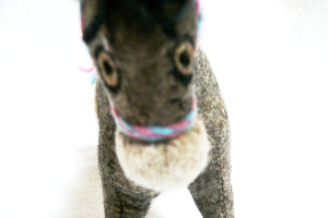 Felt Donkey - Stuffed Animal - Fair Trade - HoonArts - 2