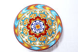 Kundal Painting, Round, Ceramic Plate, Decorative, Fair Trade - HoonArts - 6