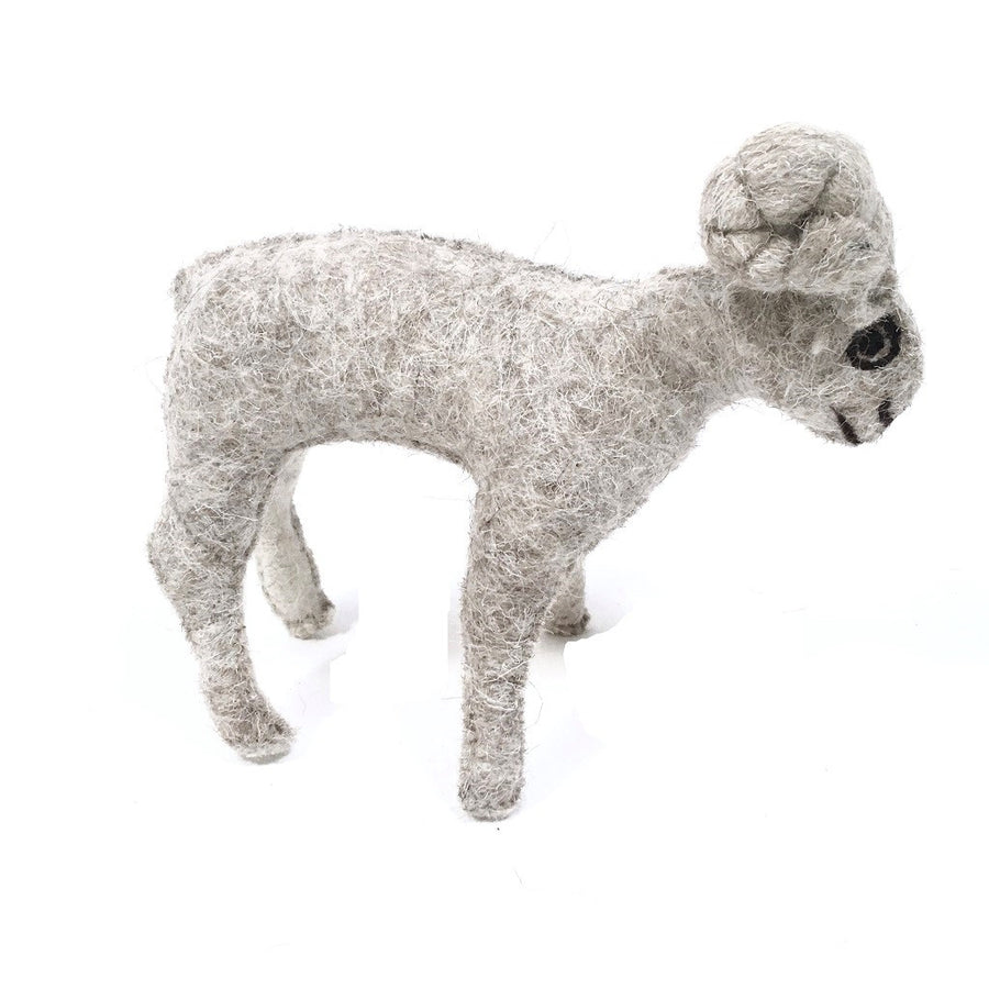 Felt Mountain Sheep- Fair Trade - HoonArts - 1