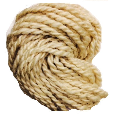 Hand Spun Mohair Yarn - Natural White
