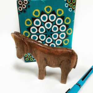 Hand carved Miniature Donkey