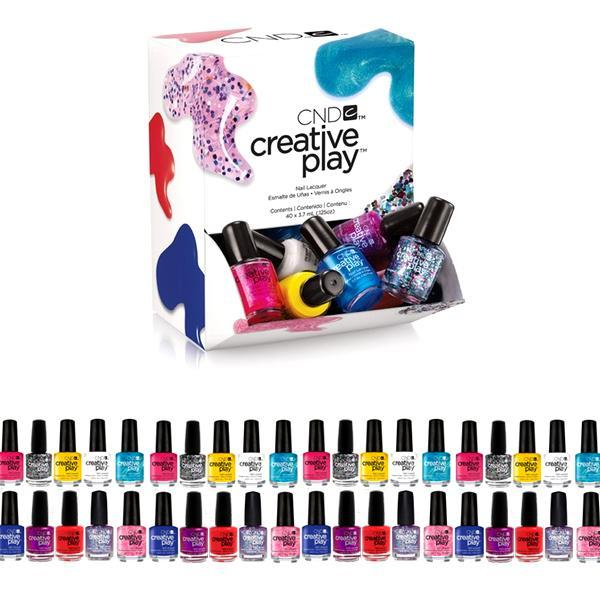 BUY 1 GET 1 FREE FOR ONLY $15.99 - 40 Pack: CND Deluxe Nail Polish Set - VIP EXCLUSIVE OFFER