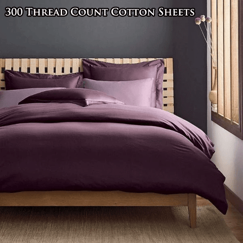 300 Thread Count Cotton Bed Sheet Set
