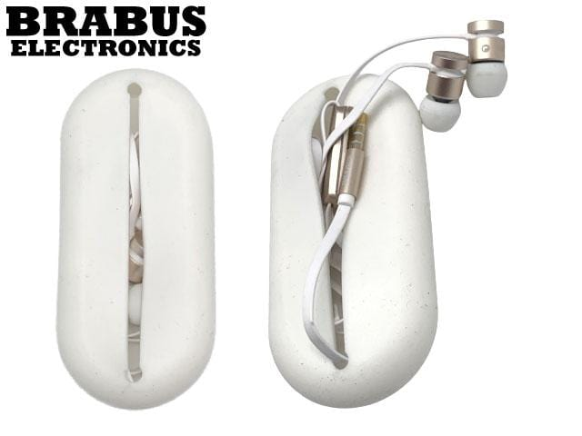 BRABUS - Wired Earbuds, Noise Isolating in-Ear Headphones