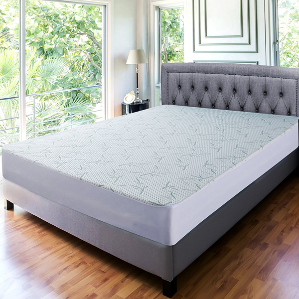 Hypoallergenic Bamboo Blend Water Resistant Mattress Protector - 4 Sizes Available!