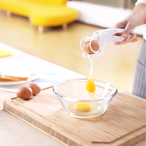 Easy Egg Cracker & Separator