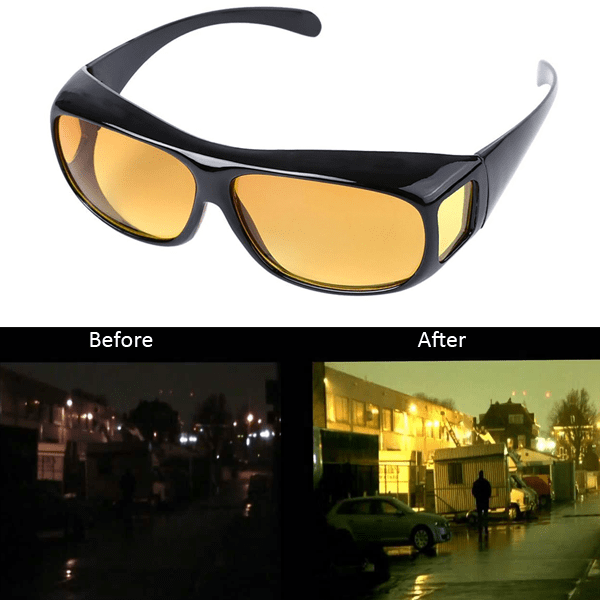 """Day & Night Clear Vision Driving Glasses"" - FREE SHIPPING!"