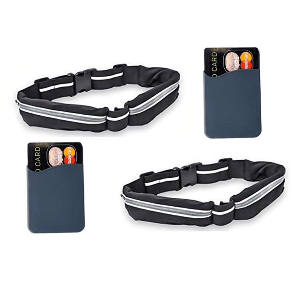 """2 Pack: Multipurpose Dual Pocket Waist Belt"" - Free Shipping!"