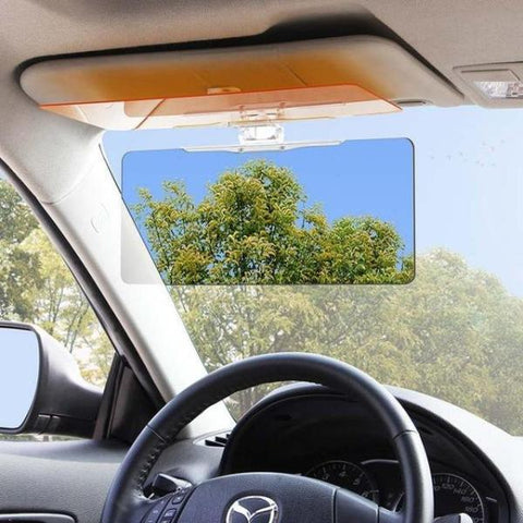 HD Day and Night Anti-Glare Vehicle Visor