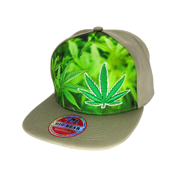 Weed Jungle Stitched and Embroidered Baseball Cap - 7 Colours Available!