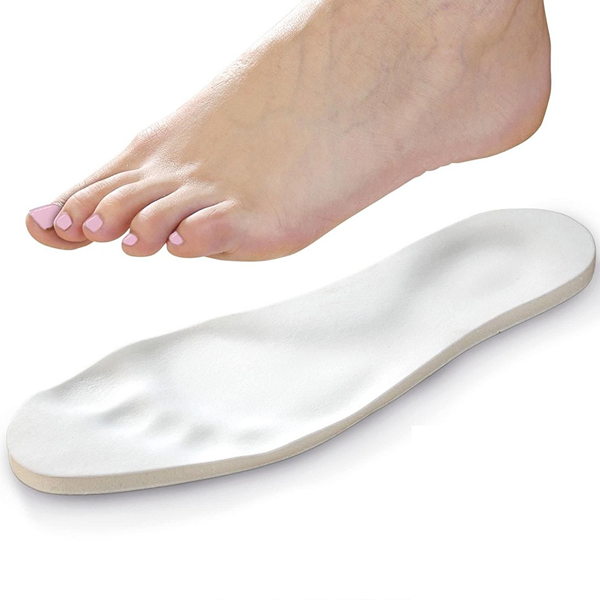Custom-Fit Unisex Therapeutic Memory Foam Insoles - 1 or 2 Pair Packs Available