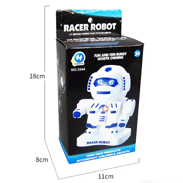 Racer Robot Musical Toy With LED Lights
