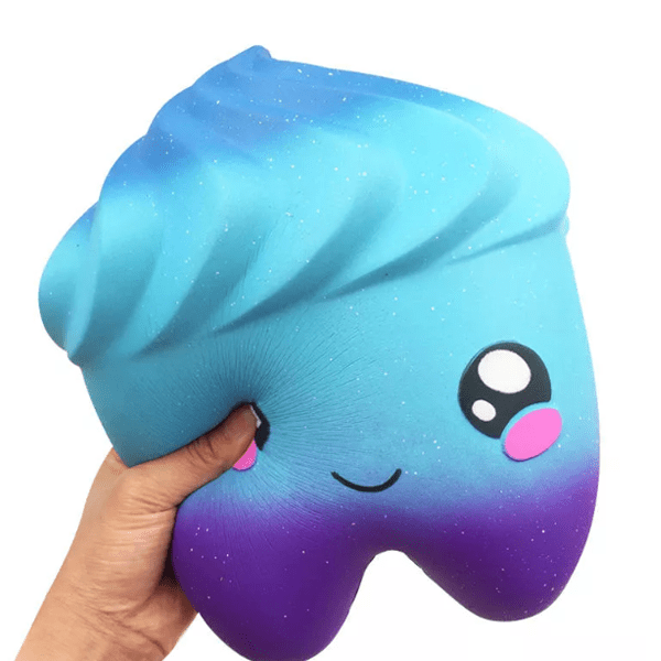 2 Pack: Stress Relieving Jumbo Squishy