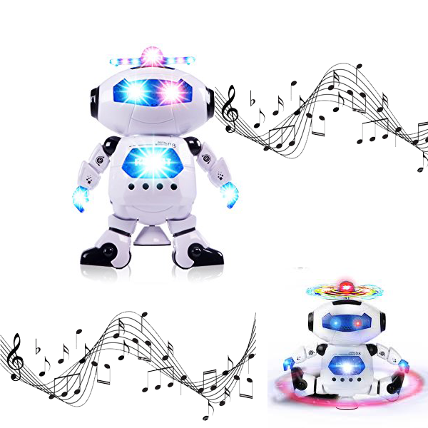 Spinning & Dancing Toy Robo