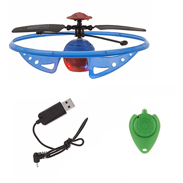 Infrared Light-Up Rebound Hovering UFO Toy