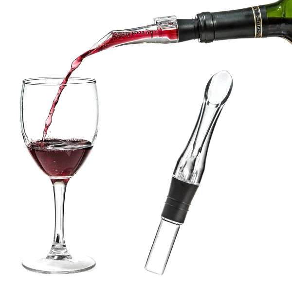 Wine Aerator Spout & Wine Decanter Gift Set