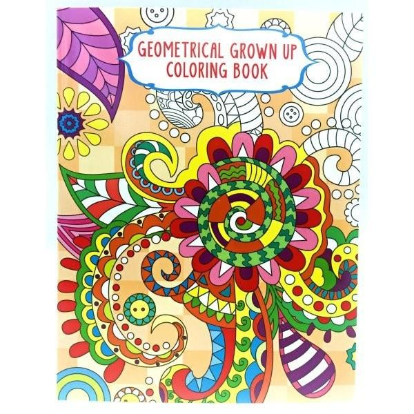 Adult Coloring Books Set Of 4