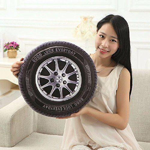 All Deals - 3D Car Tire Shape Cushion
