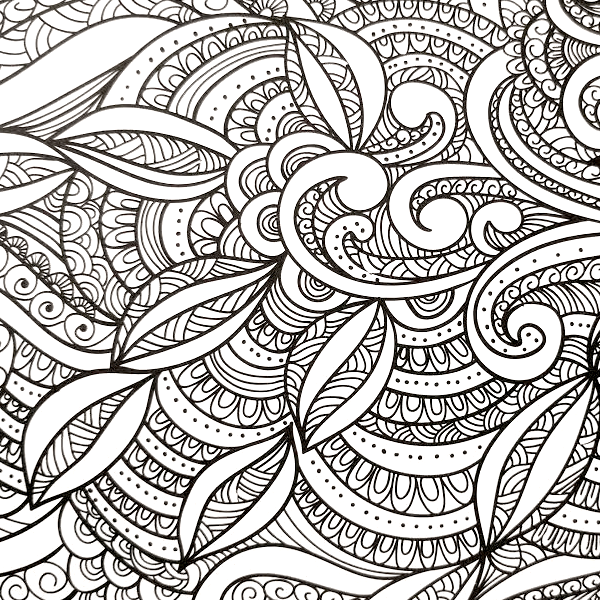 All Deals - Adult Coloring Book - Everyone Loves Coloring Patterns